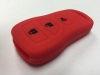 Red 3 Button Key Fob Cover