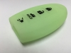 Glow in the Dark 4 Button Intelligent Key Fob Cover