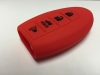 Red 4 Button Intelligent Key Fob Cover