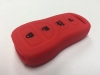Red 4 Button Key Fob Cover