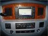 Laramie Woodgrain and Satin Silver Navigation Radio Bezel