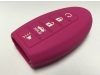 Pink 5 Button Intelligent Key Fob Cover