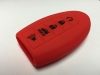 Red 5 Button Intelligent Key Fob Cover