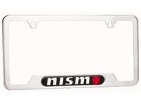 Satin Nismo License Plate Frame