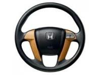 Light Wood Steering Wheel Trim