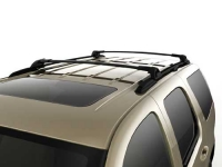Black Uplevel Roof Rack Cross Rail Package