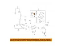 4.6L V8 Oil Filter Adapter Gasket