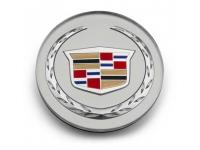 Colored Wreath and Crest Logo Center Cap