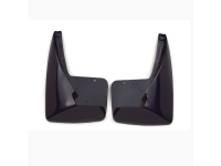 Black Grained Molded Rear Splash Guards