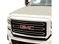 Chrome Molded Hood Protector