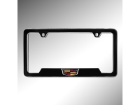 Cadillac Crest License Plate Holder