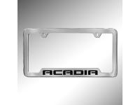 Acadia Logo License Plate Holder