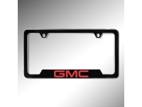 Red GMC Logo License Plate Holder