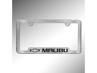 Malibu Logo License Plate Holder