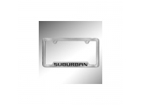 Suburban Logo License Plate Holder