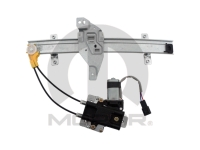 Left Rear Power Window Motor and Regulator Assembly by Magneti Marelli