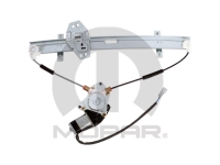 Left Front Power Window Motor and Regulator Assembly by Magneti Marelli