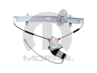 Right Front Power Window Motor and Regulator Assembly by Magneti Marelli