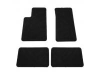 Front and Rear Carpet Floor Mats