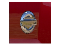 Chrome Fuel Door