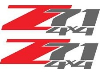 Chrome Z71 4x4 Logo