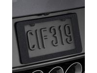 Carbon Flash Rear License Plate Holder
