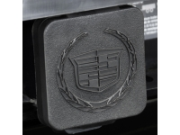 Hitch Receiver Insert Cover with Cadillac Logo