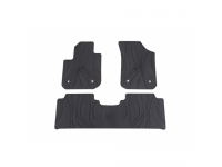 Front and Rear All-Weather Floor Mats
