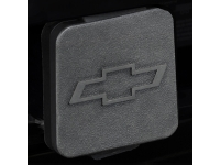 Hitch Receiver Cover with Embossed Chevrolet Logo