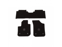 Front and Rear Carpeted Floor Mats