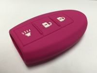 Pink 3 Button Intelligent Key Fob Cover