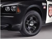 Police Package Chrome Wheel Cover