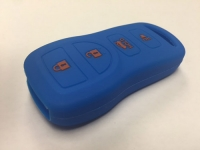 Blue 4 Button Key Fob Cover
