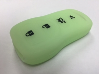 Glow in the Dark 4 Button Key Fob Cover