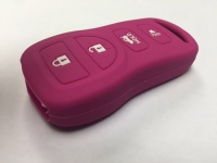 Pink 4 Button Key Fob Cover