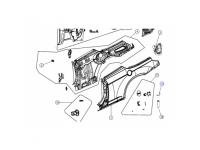 Fuel Filler Door C Clip Spring
