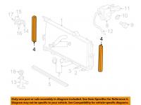 Radiator Side Air Seal