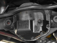 Dana 44 Differential Cover