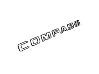Compass Nameplate