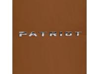 Chrome Patriot Nameplate