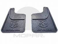 Rear Heavy Duty Rubber Splash Guards