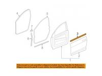 Front Door Inner Belt Molding