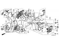 Manual Sliding Door Latch Assembly