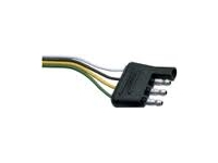 4 Way Flat Trailer Tow Wiring Harness