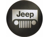 Grille Logo Cloth Spare Tire Cover