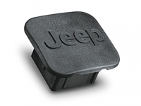1 1/4 Inch Jeep Logo Hitch Receiver Plug