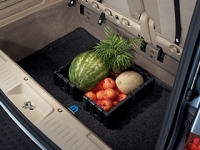 Carpeted Cargo Area Tray