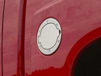Brushed Aluminum Fuel Filler Door