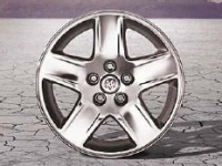 17 Inch 5-Spoke Chrome Wheel