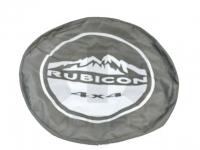 Rubicon Logo Khaki Spare Tire Cover